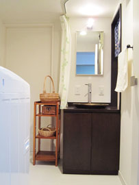 便利な手洗い器写真
